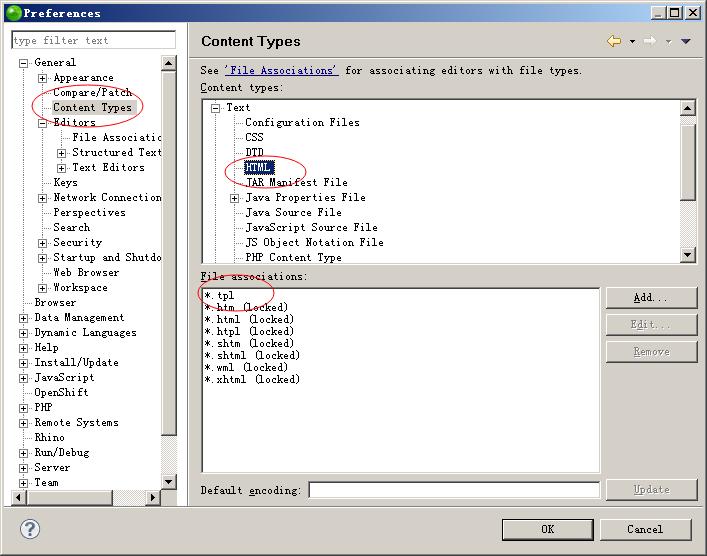 草根吧 zend studio 9.0不支持.tpl文件的设置方法  PHP技术区 2014052322112691801