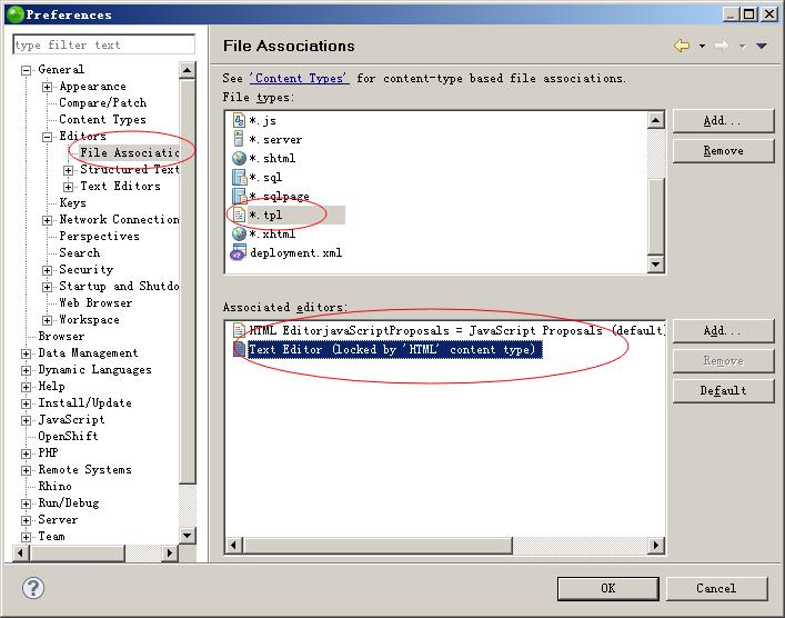 草根吧 zend studio 9.0不支持.tpl文件的设置方法  PHP技术区 2014052322112691960